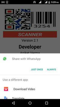 QR Code & Barcode Scanner screenshot 2