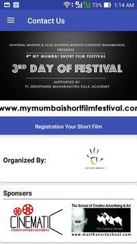 My Mumbai Short Film Festival apk screenshot