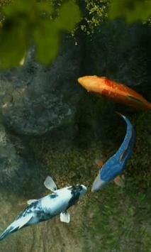 Koi Fish 1 live wallpaper screenshot 3