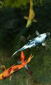 Koi Fish 1 live wallpaper screenshot 4