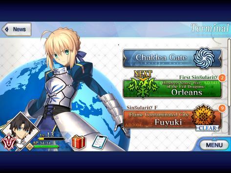 Fate/Grand Order (English) скриншот приложения