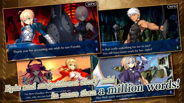 Fate/Grand Order (English) imagem de tela 1