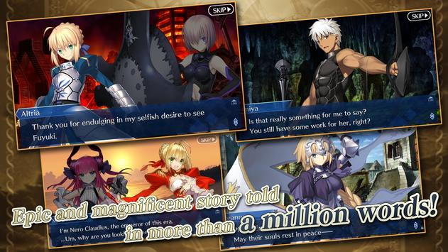 Fate/Grand Order (English) apk screenshot