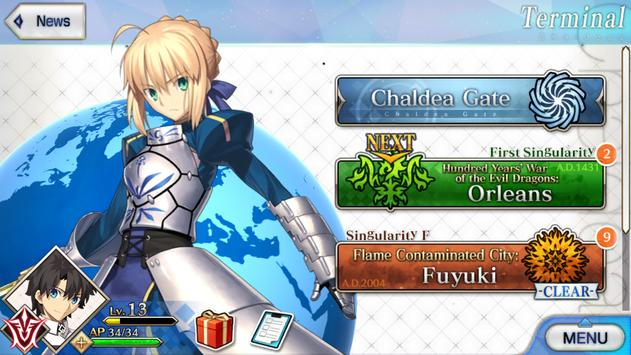 5 Schermata Fate/Grand Order (English)