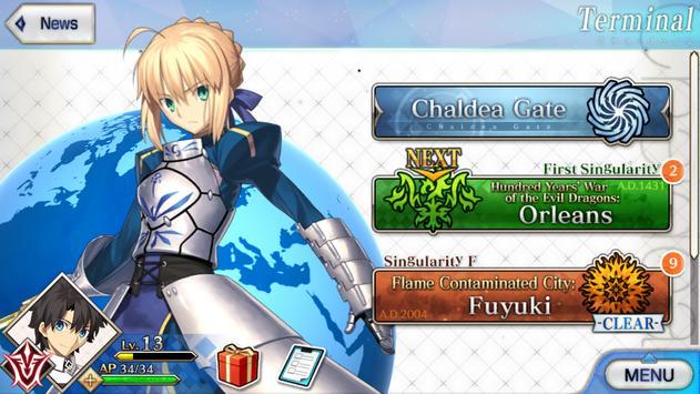 Fate/Grand Order (English) captura de pantalla 5