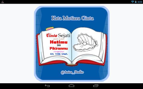 Kata Mutiara Cinta For Android Apk Download