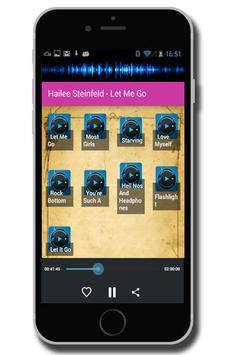 Hailee Steinfeld - Let Me Go screenshot 1