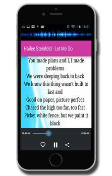 Hailee Steinfeld - Let Me Go screenshot 2