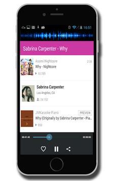 Sabrina Carpenter - Why screenshot 3