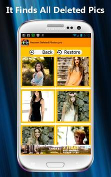 Recover Deleted Photos PRO screenshot 2