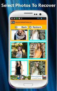 Recover Deleted Photos PRO screenshot 3