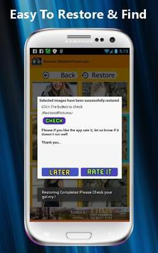 Recover Deleted Photos PRO screenshot 4