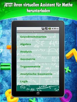 Formelsammlung Mathematik screenshot 8