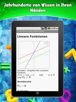 Formelsammlung Mathematik screenshot 9