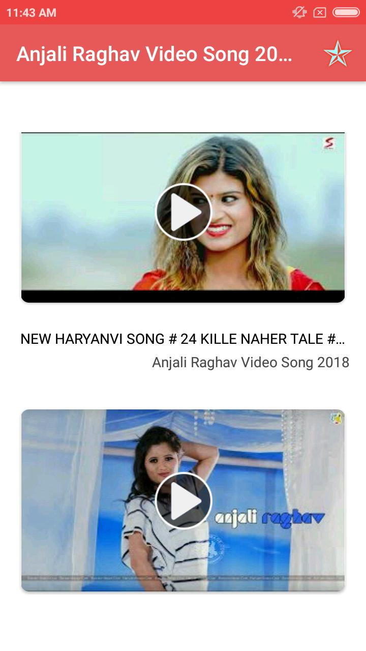 Anjali Raghav Video Song 2018 for Android - APK Download