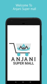 Anjani Super Mall - Online Groceries Shopping App poster