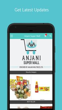 Anjani Super Mall - Online Groceries Shopping App screenshot 1