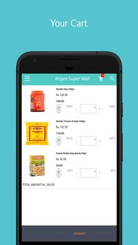 Anjani Super Mall - Online Groceries Shopping App screenshot 3