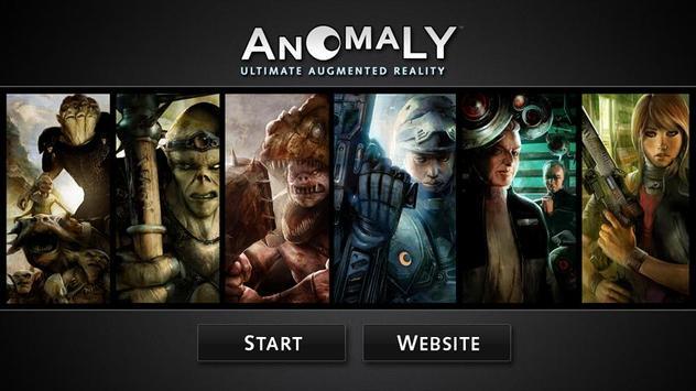 Anomaly UAR poster