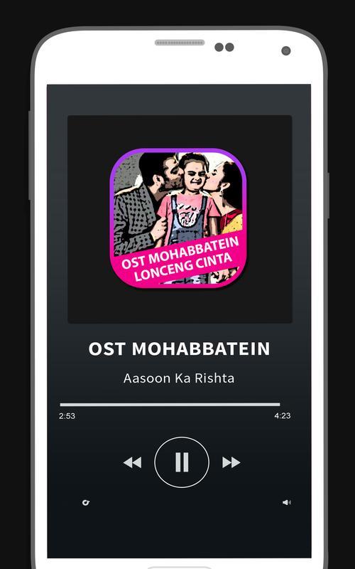 Lagu mohabbatein mp3 apk download free entertainment app for.