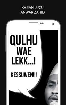 Pengajian Lucu Anwar Zahid poster