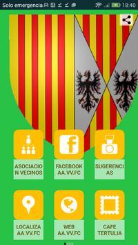 Asoc. de vecinos FC poster