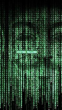 Matrix Art LockScreen poster