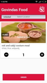 Govindas Foods poster