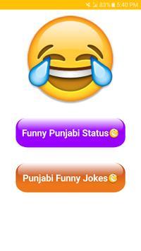 Punjabi Funny Chutkule and Funny status 2018-2019 screenshot 1