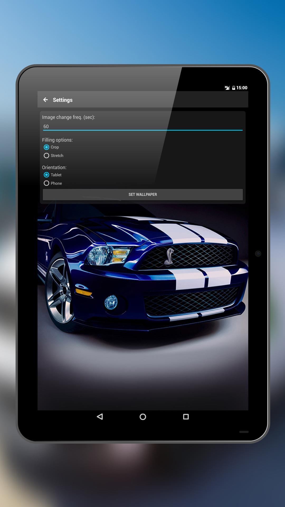 Car Wallpapers Ford Mustang For Android Apk Download