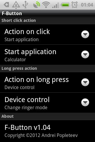 F-Button for HTC ChaCha for Android - APK Download