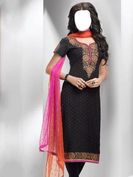 Dopatta Dress Photo Montage screenshot 1