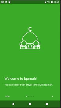 Adhan Iqamah poster