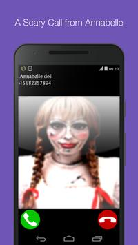 Scary call from Annabelle Doll apk screenshot