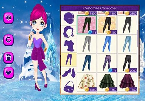 Anna And Elsa Dress Up Game screenshot 5
