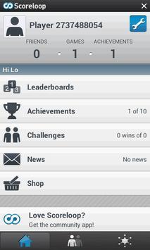 High Low (Hi-Lo) apk screenshot