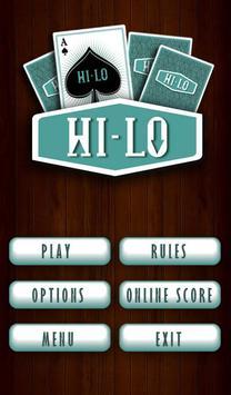 High Low (Hi-Lo) poster