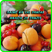 Health in fruits icon