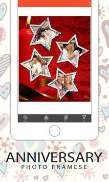 Anniversary Photo Frames screenshot 15