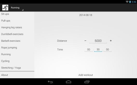 SportStat apk screenshot