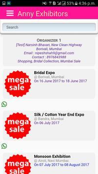 Anny Exhibitors apk screenshot