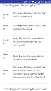 LTE Quick Reference screenshot 1