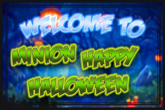 Minion Happy Halloween Game poster