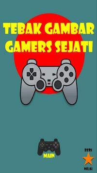 Tebak Gambar Gamers Sejati poster