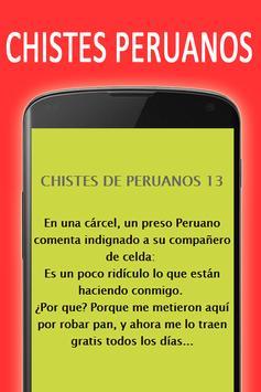Chistes graciosos de Peruanos apk screenshot
