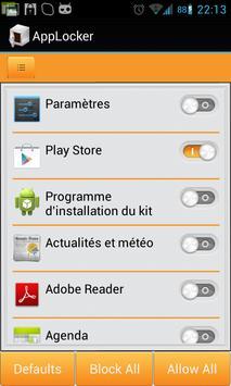 AppLock(free) screenshot 1