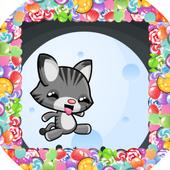 Swiping Cat icon