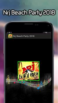 Nrj Beach Party 2018 poster