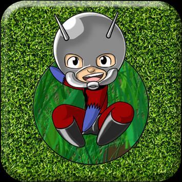 Ant Hero Run Rush poster
