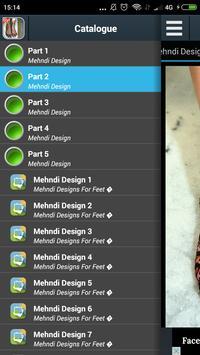 Mehndi Design For Feet 2017 screenshot 2